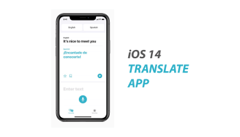 iOS 14 Translate App