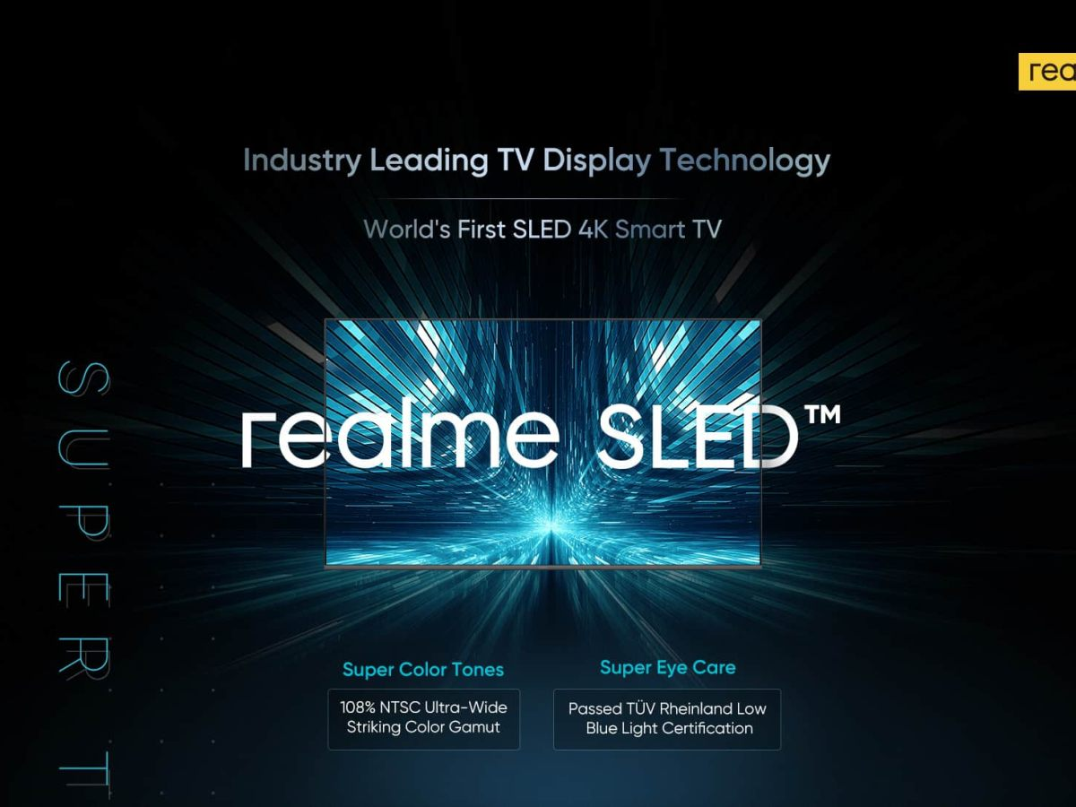Realme to launch its 4K SLED TV in India at Rs 69999
