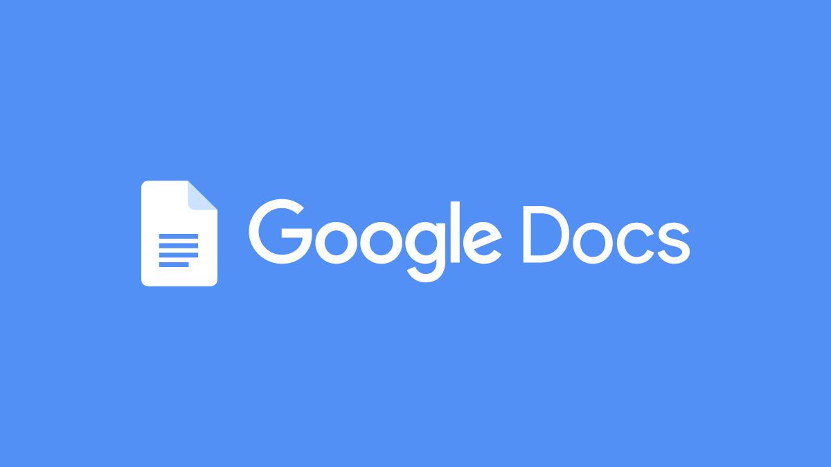 Change Google Docs Default Font