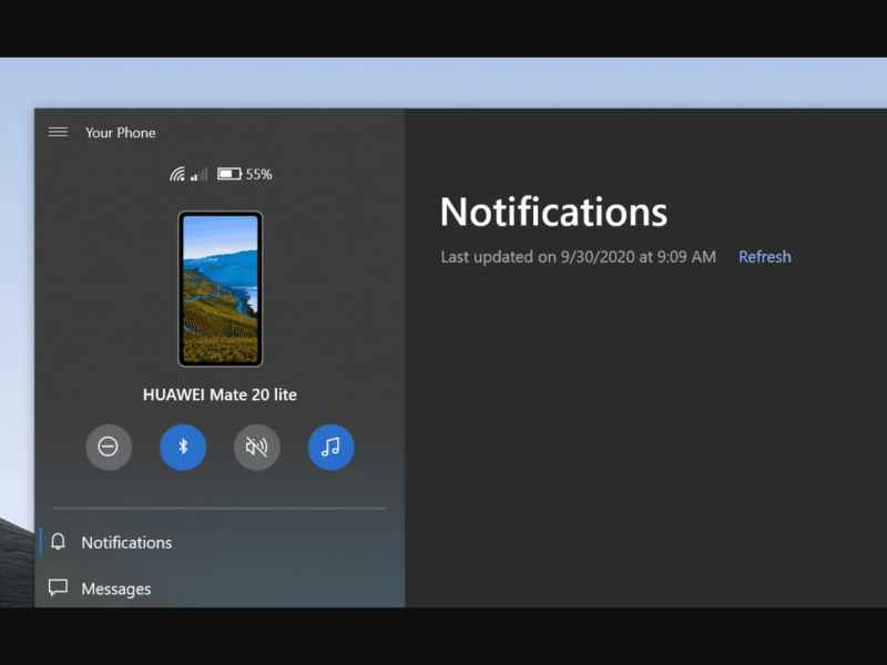 Control Phone Settings with Your Phone App for Windows 10