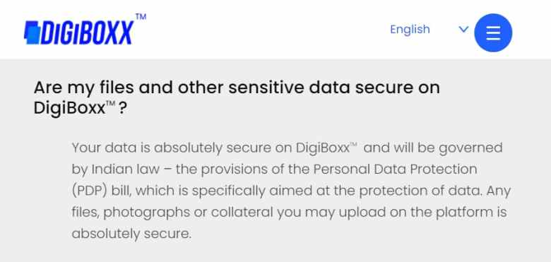 Is your data safe on Digiboxx