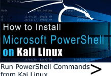 Installing PowerShell on Kali Linux
