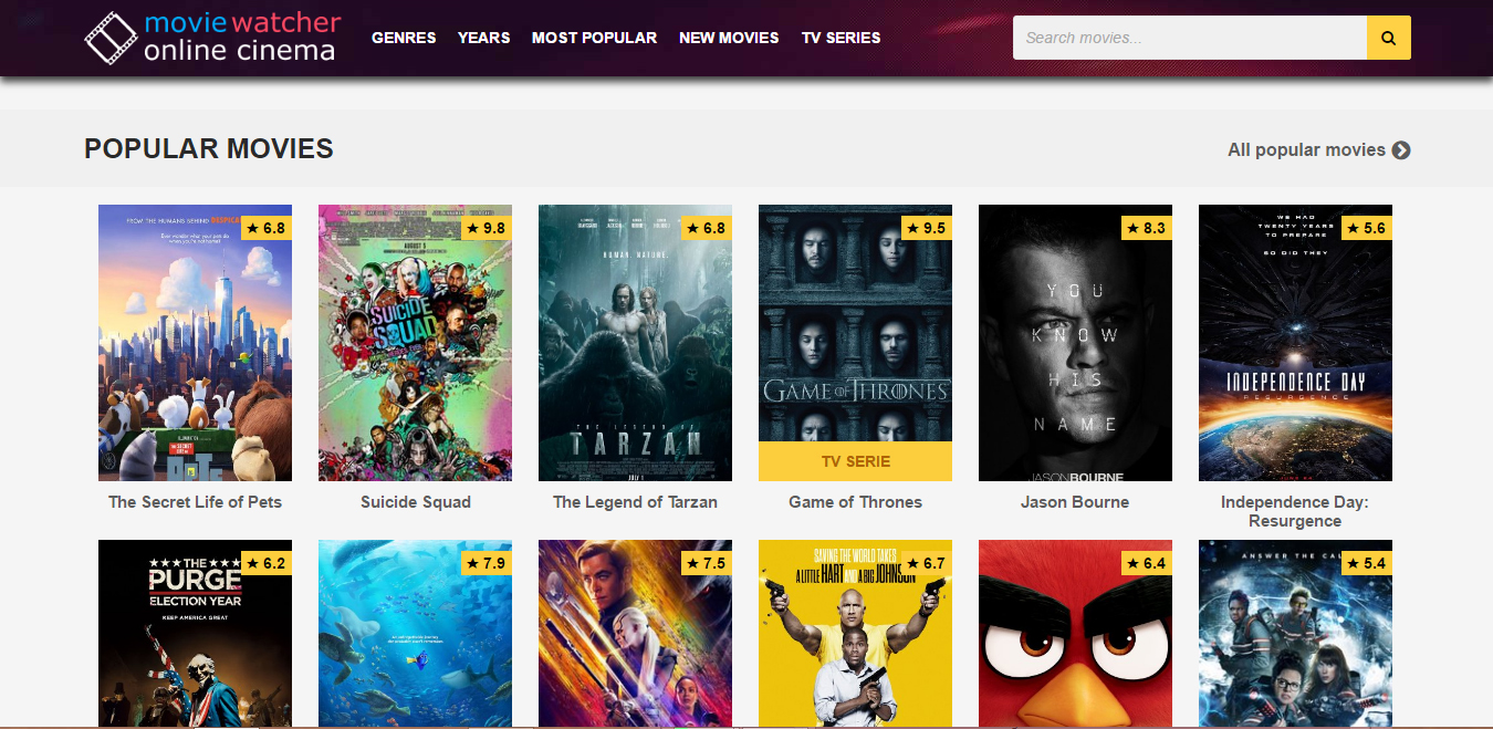 31+ Movie Streaming Sites To Watch Movies Without Downloading [Aug Updated] - Techcloud7