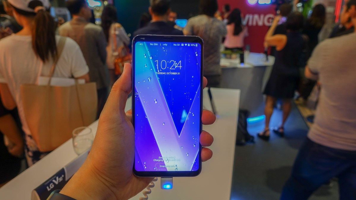 First Look: LG V30+ has arrived in Singapore