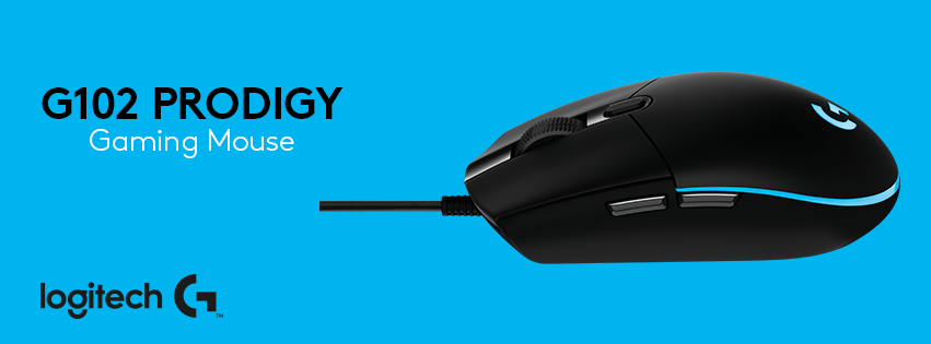 Firmware update: Logitech G's G102 Prodigy Gaming Mouse