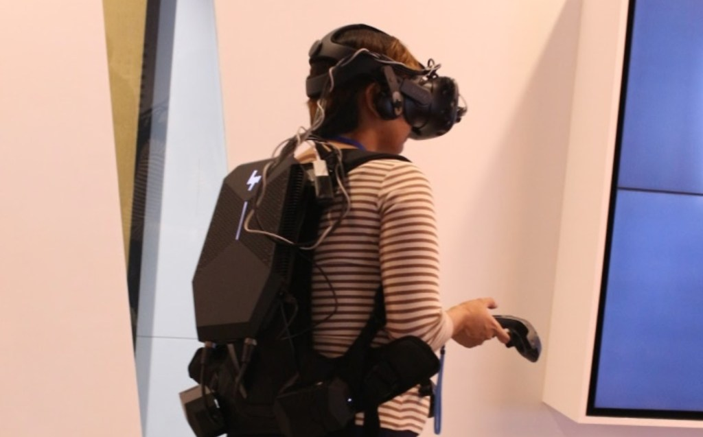 HP VR backpack