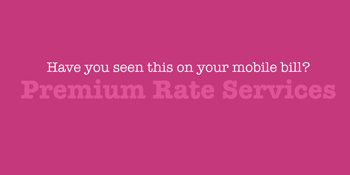 What are Premium Rate Services (PRS)?