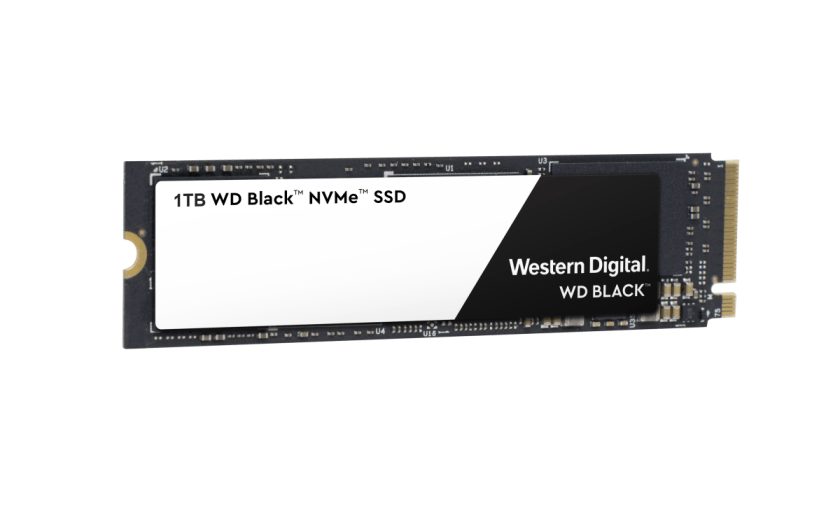 Western Digital® Black 3D NVMe SSD