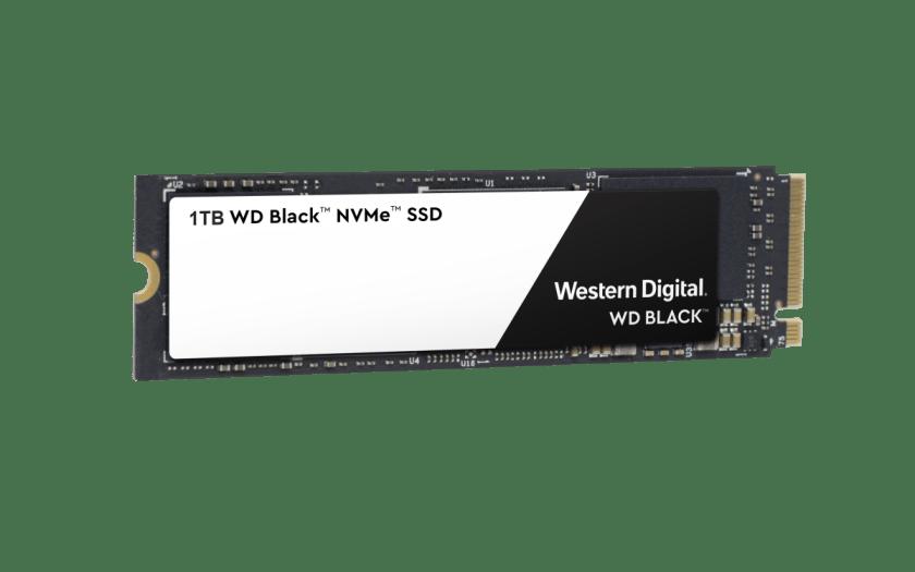 Western Digital® Black 3D NVMe SSD