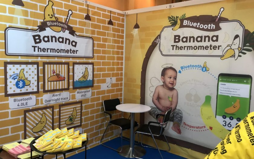 Banana Thermometer at ConnecTechAsia