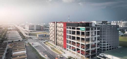 Toll City - next-generation logistics hub