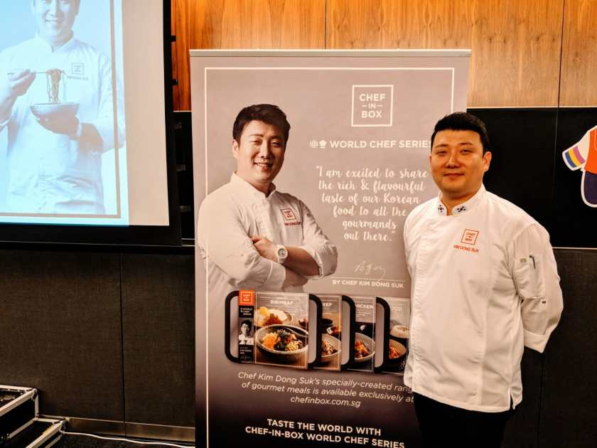 Chef-in-Box VendCafe by JR Group - World Chef Series