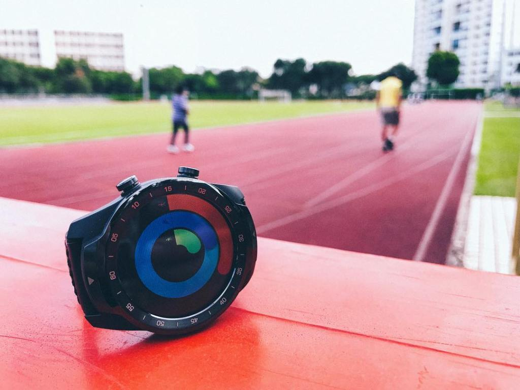 TicWatch Pro - Exercise Rings