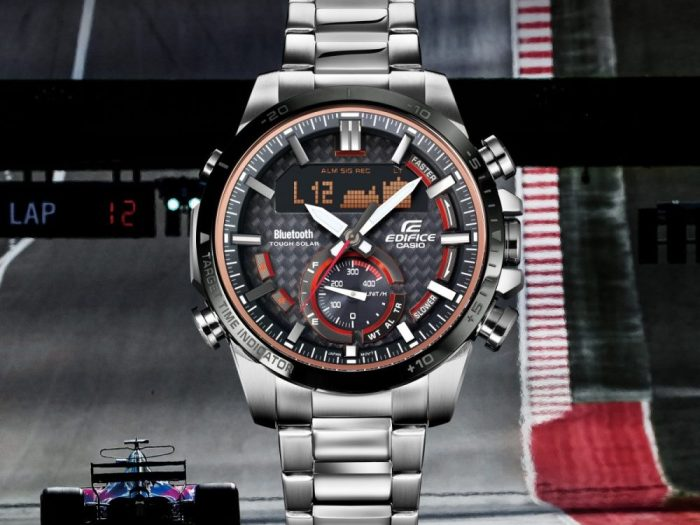 Casio's New EDIFICE ECB800DB-1A