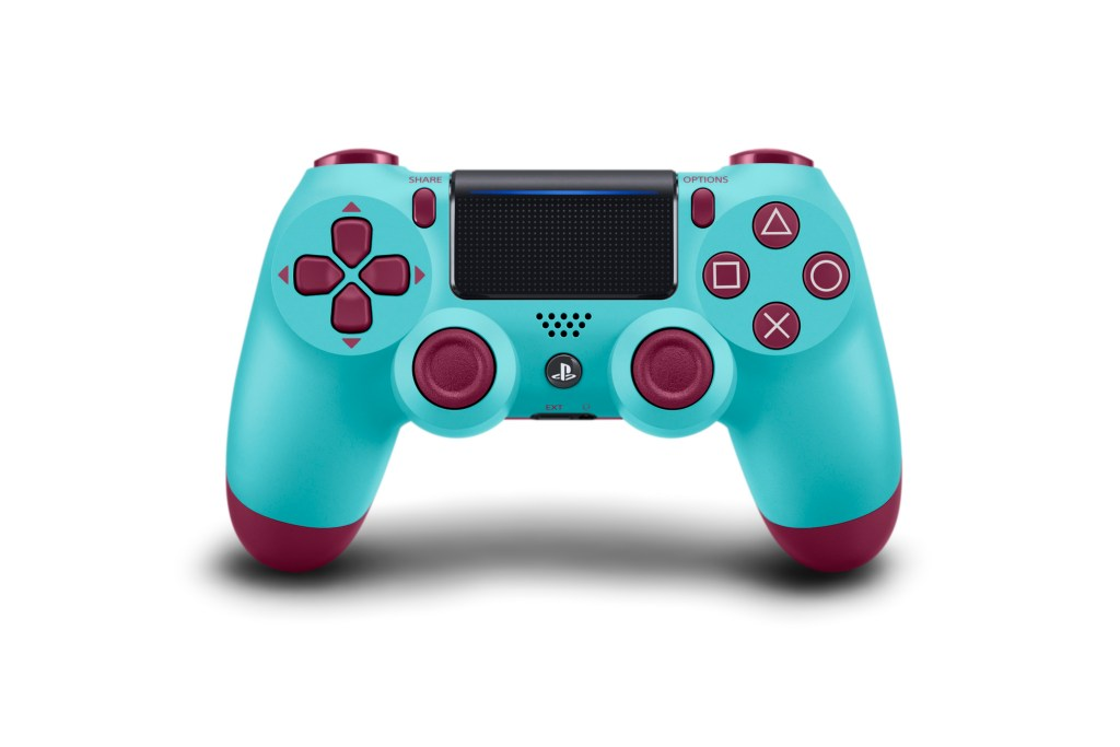 Wireless DUALSHOCK Controller_Blue_Camouflage_Berry Blue