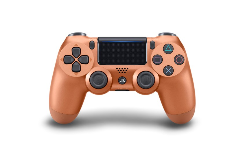 Wireless DUALSHOCK Controller_Blue_Camouflage_Metallic_Copper