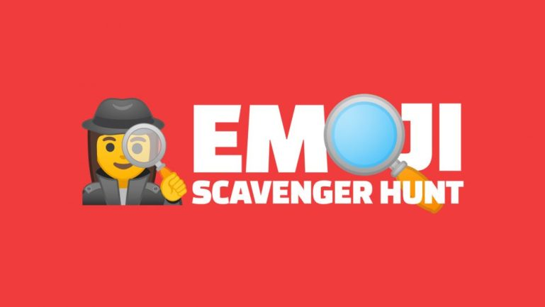 Google-made games - Emoji Scavenger Hunt