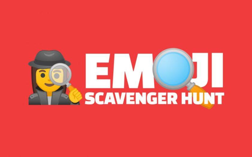 Google-made games - Emoji Scavenger Hunt