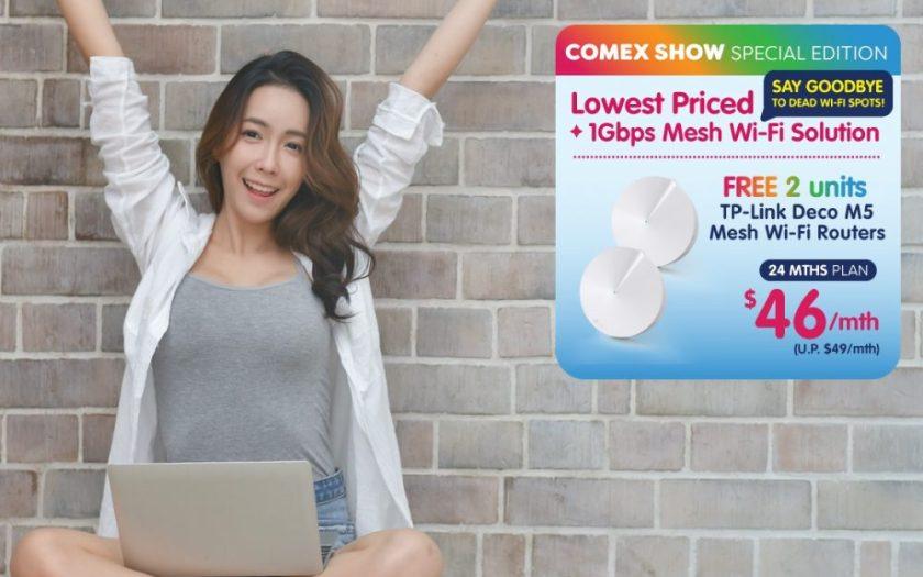 Whizcomms promo at COMEX 2018