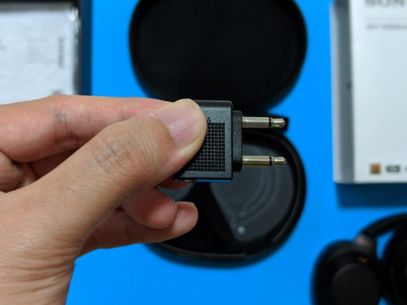 Sony WH-1000XM3 - Plug Adaptor