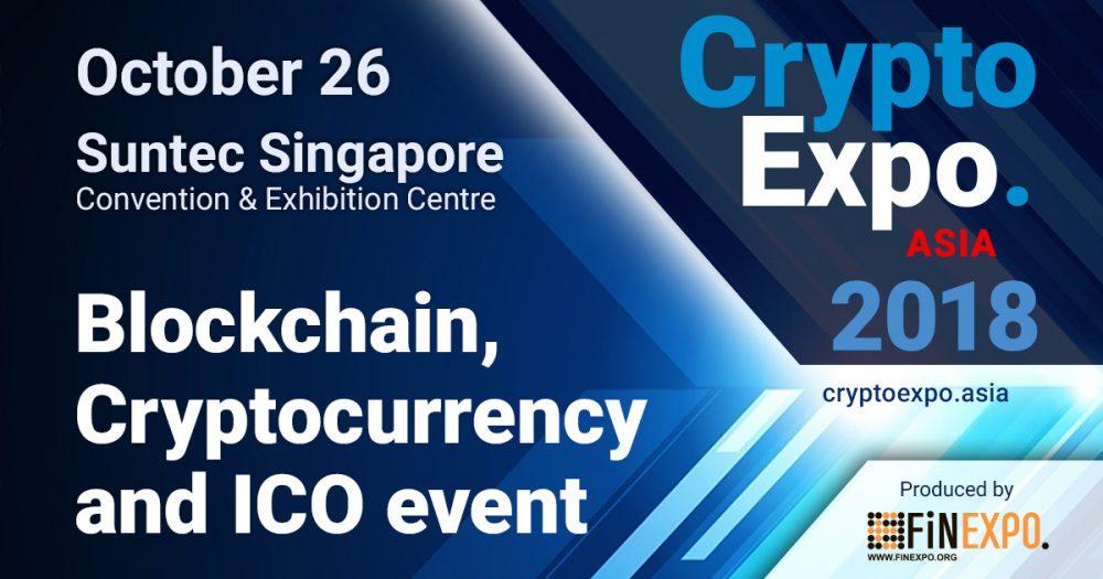Crypto EXPO Asia 2018 - FINEXPO