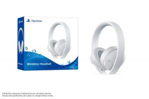 PS4 Wireless Headset Bundle_White