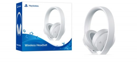 PS4 Wireless Headset Bundle_White