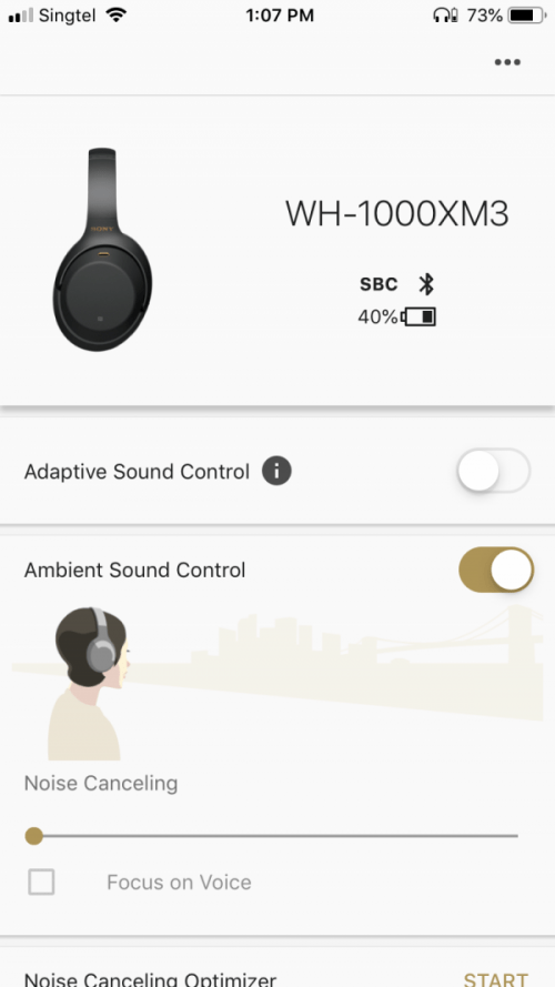 Headphone Connect App