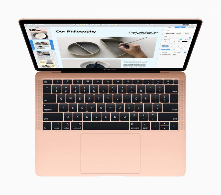 MacBook Air 2018 - Keyboard