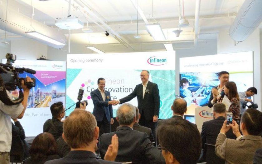 Opening of the Co-Innovation Space at Infineon Technologies