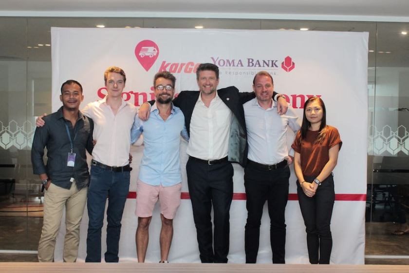 Kargo – Myanmar's first online goods transportation service receives over USD$130,000 from Yoma Bank
