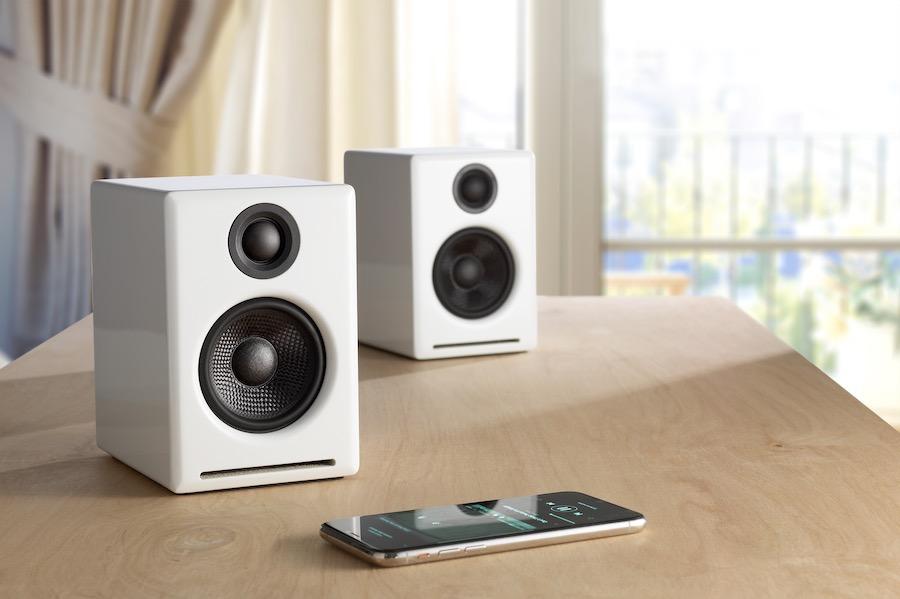 Audioengine A2+ white   Tech Coffee House