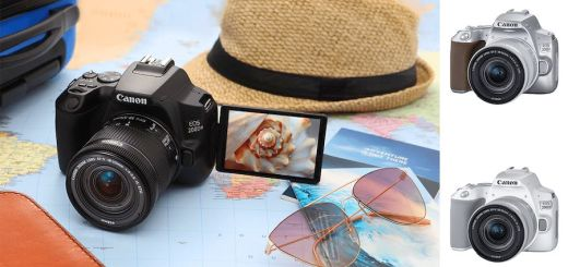 Jazz up your everyday photography with Canon's stylish intuitive EOS 200D II