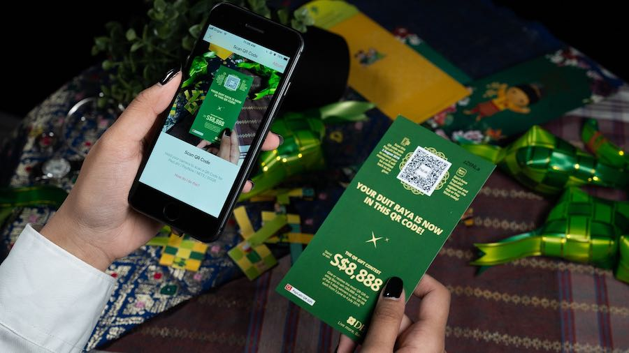 DBS rolls out QR Gift in celebration of Hari Raya this year.
