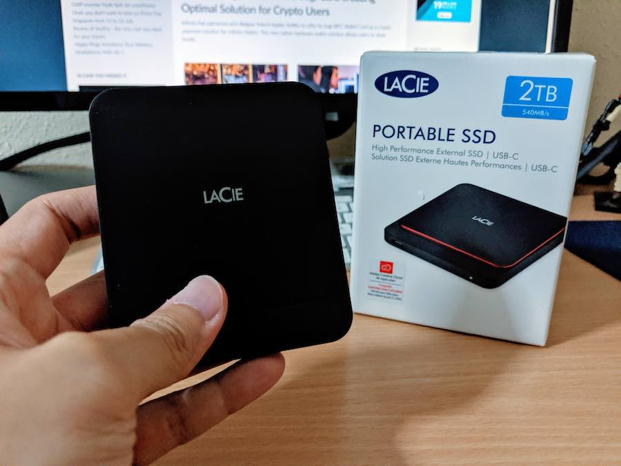 Review of the LaCie Portable SATA SSD (2TB)