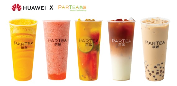 Huawei rewards customers with premium tea from Partea