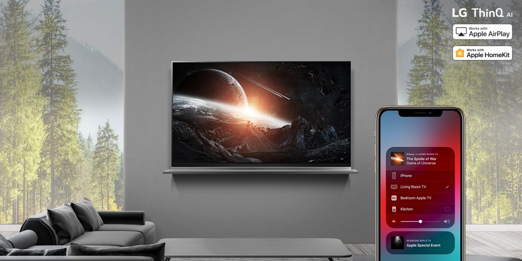 LG rolls out Apple Airplay 2 on 2019 ThinQ AI TVs