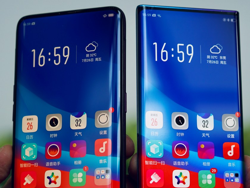 """OPPO impresses with new """"Waterfall Screen"""" technology"""