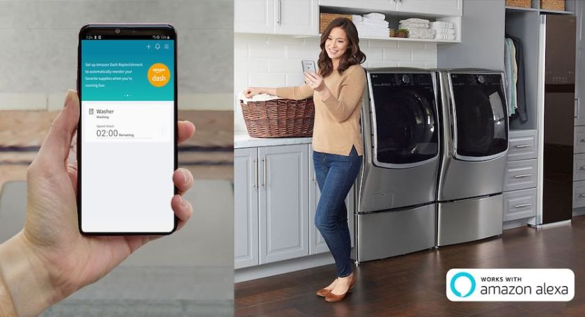 LG ThinQ with Amazon Dash Replenishment takes home convenience to the next level at IFA 2019