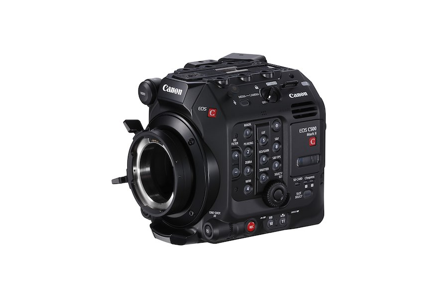 Canon unveils EOS C500 Mark II, lightweight, modular professional digital cinema camera