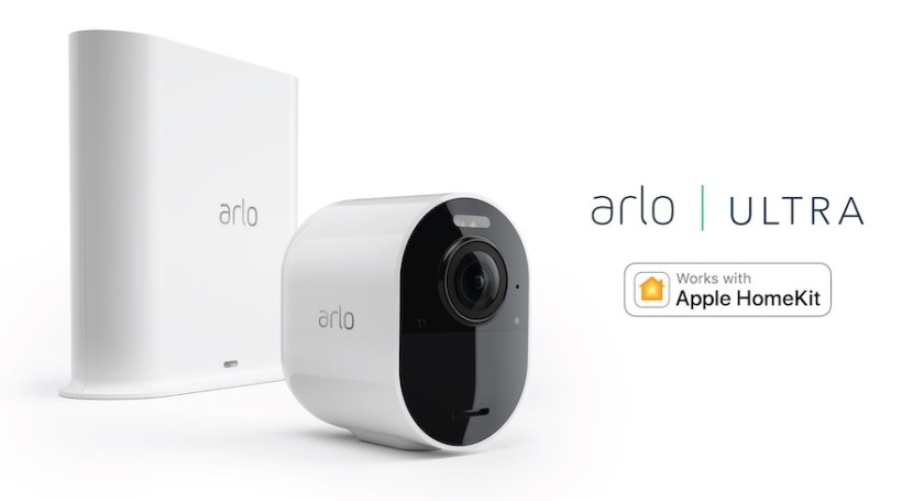 Arlo unveils Apple Homekit compatibility with Arlo Ultra