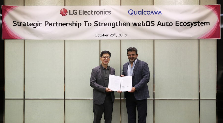 LG and Qualcomm join forces to advance in-car experience