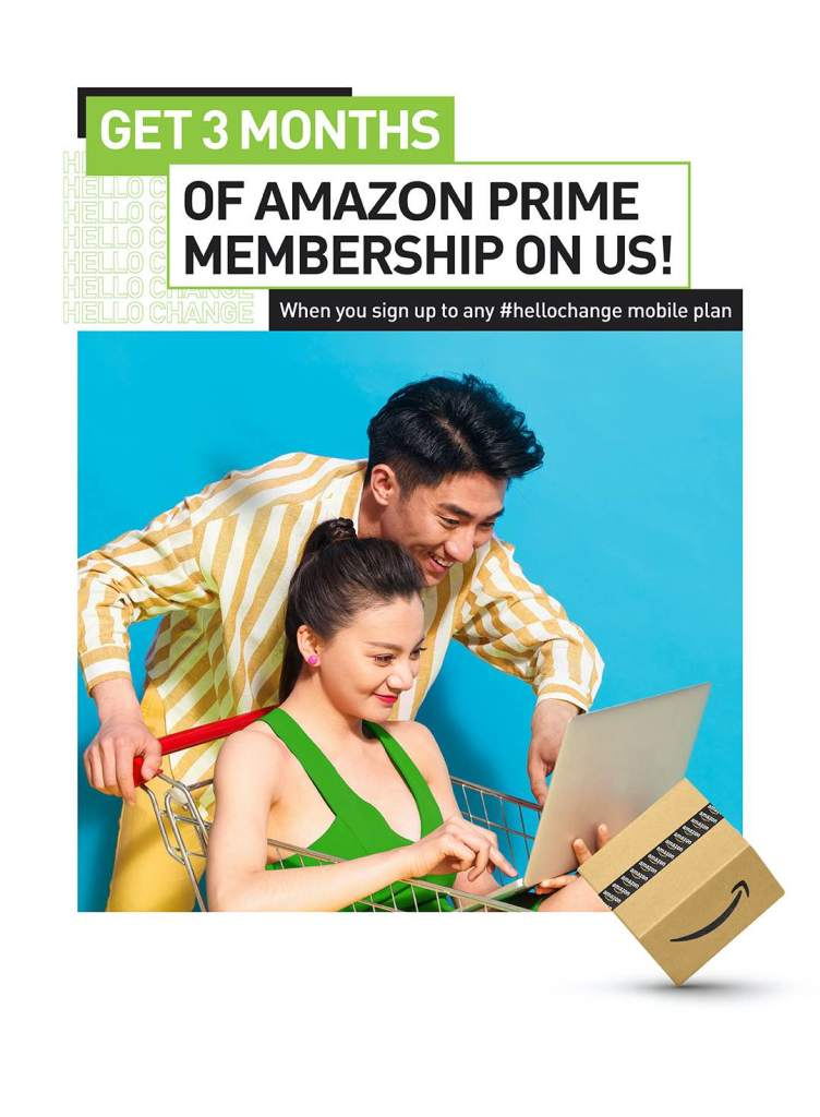 #HelloChange: StarHub Introduces Amazon Prime Membership for All its Mobile Customers