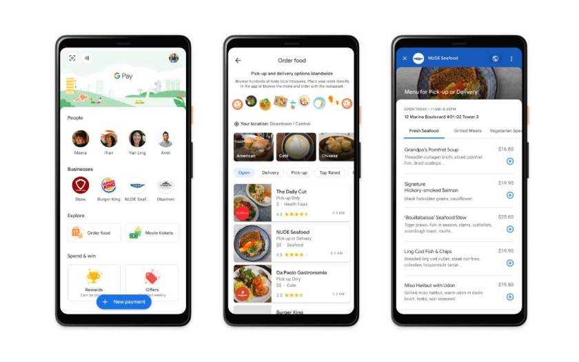 Google Pay supports Singapore food establishments amid the COVID-19 pandemic