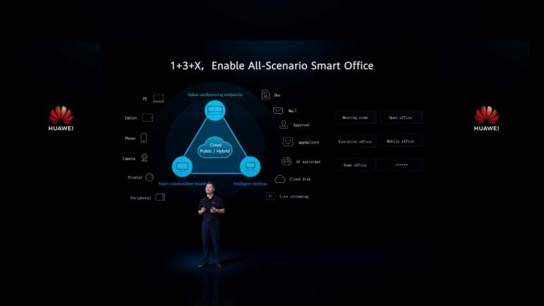 Huawei Unveils New Smart Office Product for All-Scenario Remote Collaboration in Singapore