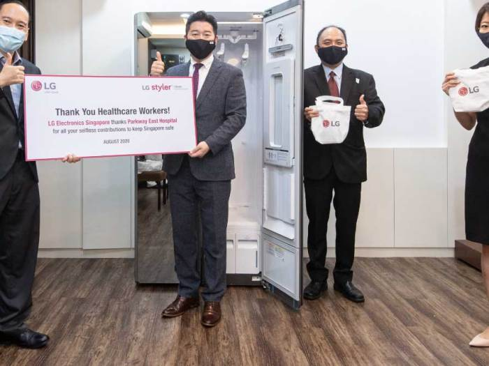 LG Electronics gives back to Singapore with new initiatives