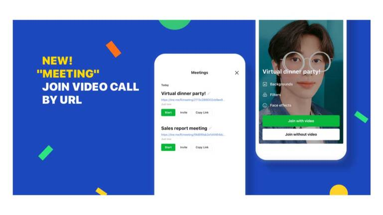 Introducing LINE Meeting: Group Video Calls You Can Join by URL