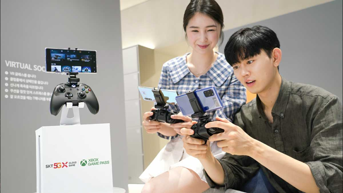 SK Telecom and Microsoft to Launch Xbox Cloud Gaming in Korea Next Month