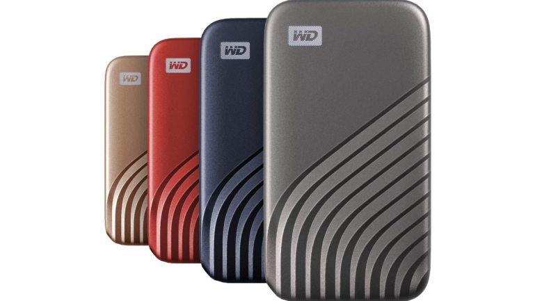 Western Digital's New Sleek Wd Brand My Passport Ssd Is Built for Speed to Accelerate Productivity