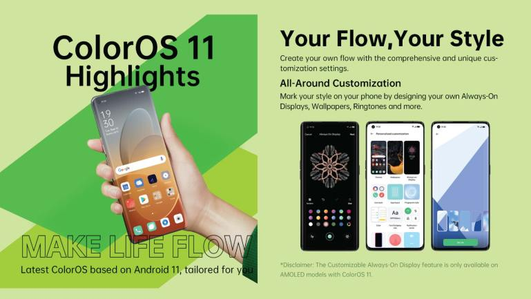 OPPO marks global launch of ColorOS 11 for Android 11